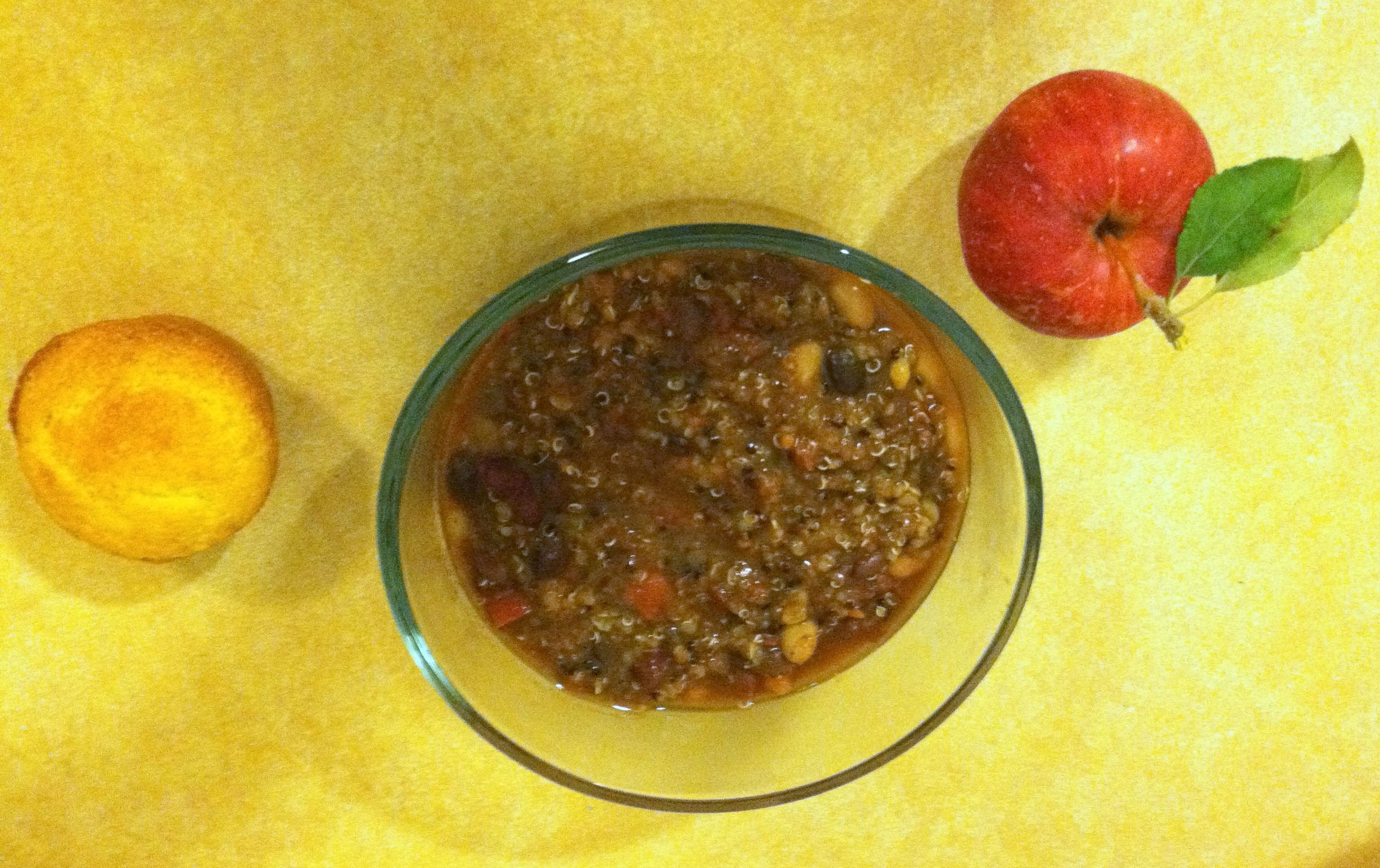 Quinoa baxter and main vegetarian chili adapted slightly from robin millers recipe found at foodnetwork forumfinder Choice Image