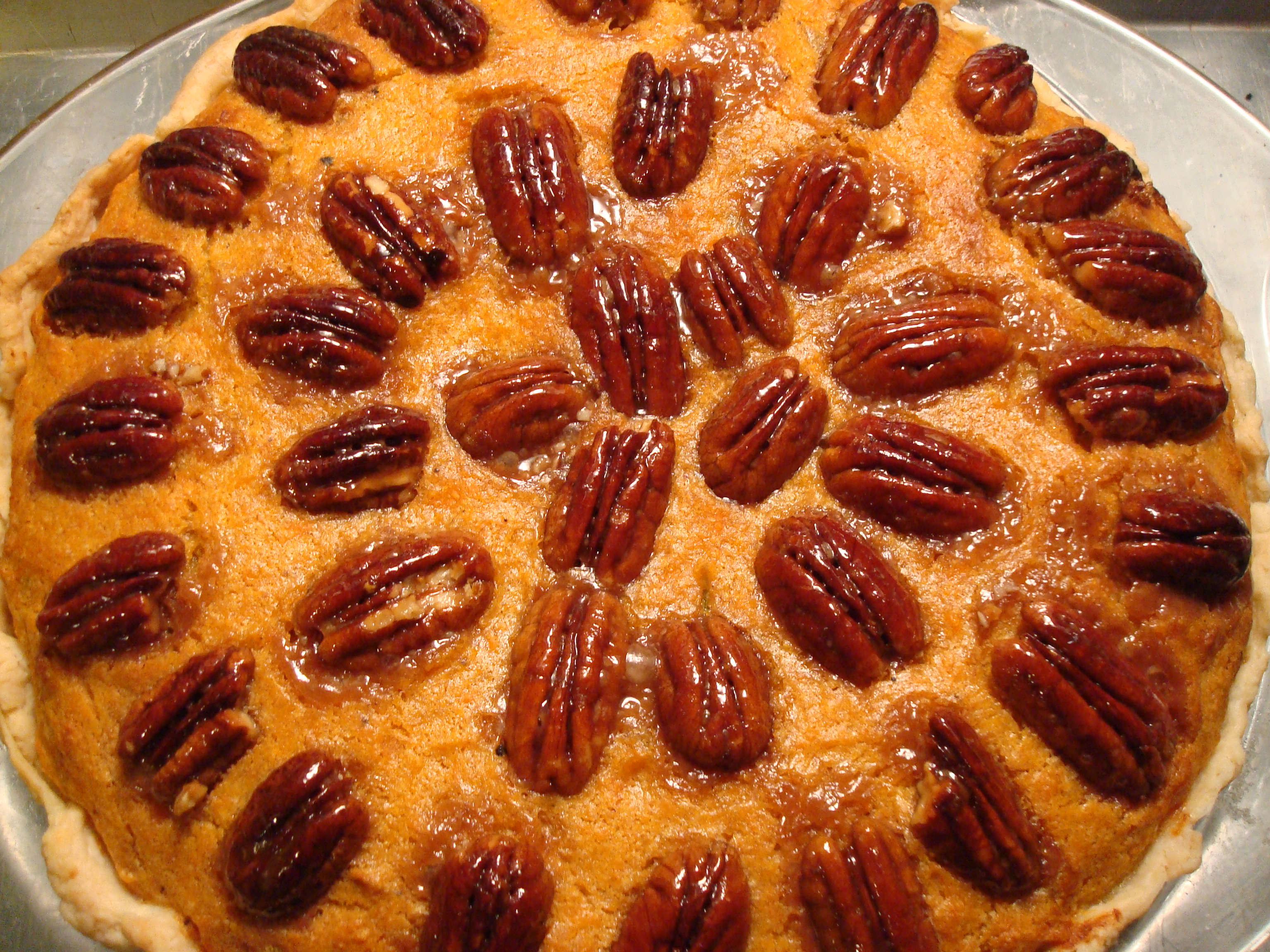 "Rosemary Bourbon Sweet Potato Pie (from ""A Year of Pies: A Seasonal ..."